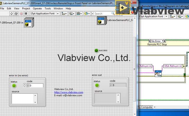 LabVIEW Siemens PLC S7-200Smart(Siemens PLC S7-200